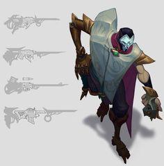 lol jhin   Création de Jhin par Riot Games - League of Legends