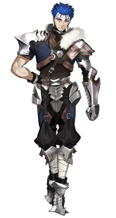 Cu Chulainn, Young Lancer Outfit from Fate/Extella: The Umbral Star