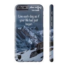 Your Life Had Just Begun -  Motivational iPhone Case Limited Edition 50 pieces $30 Only  FREE SHIPPING Worldwide SHOP NOW!