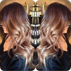Balayage/ombré hair