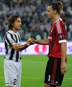 Pirlo & Ibra (such a beast on the field)
