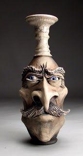 Grafton Pottery Face Jugs: Mitchell Grafton Pottery Custom Orders and Ebay mitchellgrafton@gmail.com