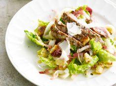 Salade César Flan Nature, Menu Express, Nutella, Sprouts, Potato Salad, Cabbage, Tacos, Potatoes, Beef