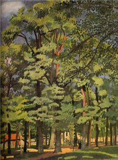 Landscape in Falaise, 1902-Raoul Dufy - by style - Fauvism