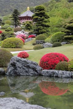 Japanese Garden the real japan real japan japan japanese guide tips resource tips tricks information guide community adventure explore trip tour vacation holiday planning travel tourist tourism backpack hiking Beautiful Landscapes, Beautiful Gardens, Japan Garden, Garden Waterfall, Japanese Garden Design, Japanese Gardens, Chinese Garden, Garden Care, Garden Projects
