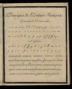Exercice dans l'écriture française | Et Lettera