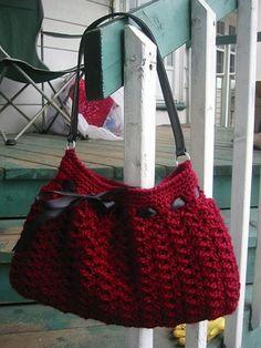 Free Crochet Pattern: Nordstrom Crochet Hobo Bag by Dao Lam