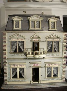 A Christian Hacker House, ca 1880 by Susan Hale - Dolls Houses Past & Present
