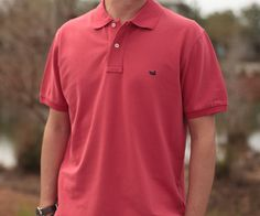 Southern Marsh Collection — The Stonewall Polo from Southern Marsh - Claiborne Red