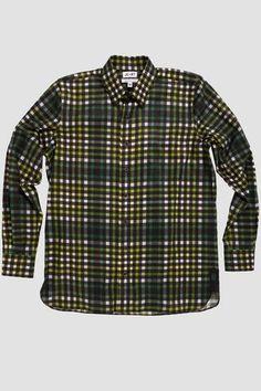UK/_ Men/'s Plaid Turn-Down Collar Long Sleeve Autumn Casual Slim Shirt Top Raptur