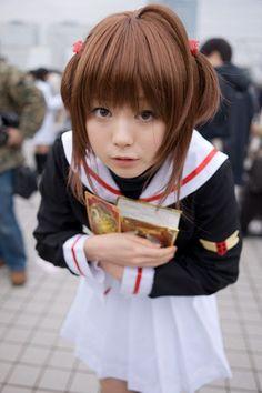 Sakura cosplay (Card captor Sakura)