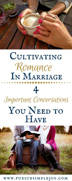 Are there conversations you wish you had talked about before you got married? Check out these 4 important conversations and get to talking today!