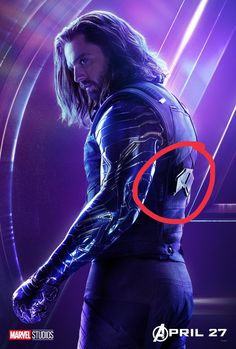 Bucky has a thing on his back similar to the thing on caps back that holds his shield. Any idea what Bucky might use it for?<<<OMG I was thinking the same thing and now I'm gonna go cry cause that probably means Steve is going to die and Bucky will take up the shield!