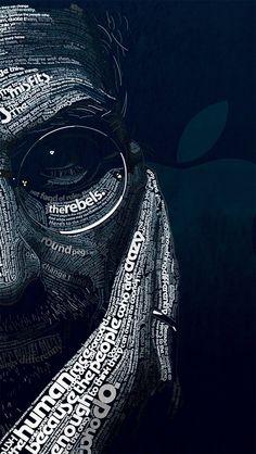 The Rebels | Steve Jobs #typography #art