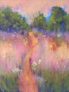 Sunlit,9x12, pastel
