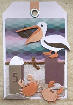 Marianne Design Cards, Project Ideas, Projects, Cricut Cards, Nautical, Card Making, Tropical, Symbols, Scrapbook