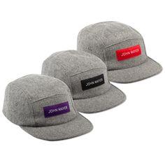Camp Hat (Grey Wool)