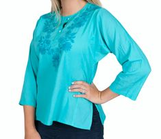 Marigold - Gateway to India Clothing, Accessories, Gifts, Home and Jewelry Marigold, Bell Sleeve Top, Indian, How To Wear, Clothes, Tops, Women, Fashion, Outfits