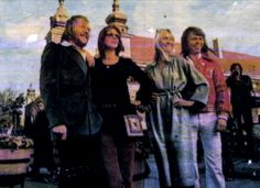ABBA 1976 in poland