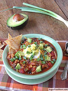 taco soup (low fat)
