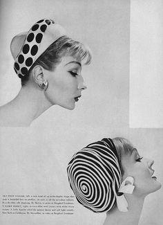 Model: Dovima, Vogue, February 1959.