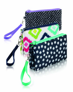 Easy Going Wristlet for Spring 2017. MyThirtyOne.ca/INSPIRE