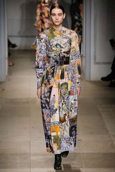 Erdem Fall 2017 Ready-to-Wear Collection Photos - Vogue Fashion Week, Fashion 2017, Vogue Fashion, London Fashion, Kaftan, Fashion Details, Fashion Design, Erdem, Vogue Russia