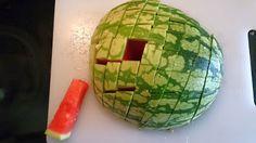 Melone schneiden leicht gemacht
