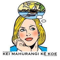 Kei mahurangi kē koe Away with the fairies