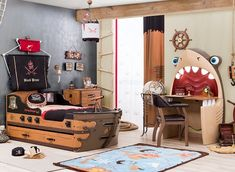 Habitaciones temáticas http://www.mamidecora.com/especial%20navidad-ideas%20regalar-cilek-2015.html