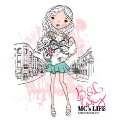 Bag lady vector 1536678 - by zoitree on VectorStock®