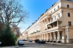 Lavish terraced houses in Eaton Square in Belgravia. Like modern day Candy Brothers, The Grosvenor Group decided to build magnificent homes for the rich in an area now known as Mayfair. They designed streets lined with terrace mansions that featured grand pillars, ornate balconies and floor-to-ceiling windows.