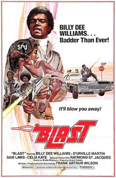 Blast with Billy Dee Williams. Look man, all you had to say was Billy Dee Williams! Old Movie Posters, Cinema Posters, Movie Poster Art, Movie Titles, Old School Movies, Old Movies, Vintage Movies, Indie Movies, African American Movies