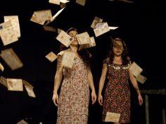 Escena Miriñaque: Cartas de las golondrinas en Teatro Principal, Ourense #MITEU Mostra de Teatro Universitario de Ourense