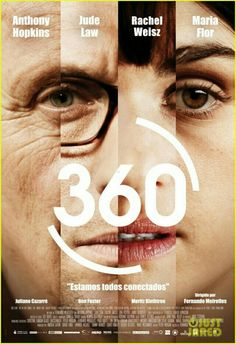 360 directed by Fernando Meirelles with Rachel Weisz, Jude Law, Anthony Hopkins Good Movies To Watch, Great Movies, New Movies, Movies And Tv Shows, Rachel Weisz, Jude Law, Movie List, Movie Tv, Poster Photo