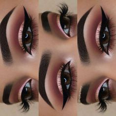 Gorgeous Makeup: Tips and Tricks With Eye Makeup and Eyeshadow – Makeup Design Ideas Makeup Eye Looks, Skin Makeup, Eyeshadow Makeup, Rose Gold Makeup Looks, Rose Gold Eyeshadow, Casual Eye Makeup, Easy Eyeshadow, Eyeshadow Ideas, Gorgeous Makeup