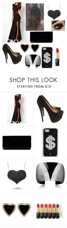 """REVENGE "" by leelee-the ❤ liked on Polyvore featuring Christian Louboutin, Kate Spade, Amorium, L'Oréal Paris, women's clothing, women, female, woman, misses and juniors"