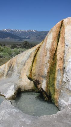 Hot Springs- this looks like Bridgeport CA but I am unsure.