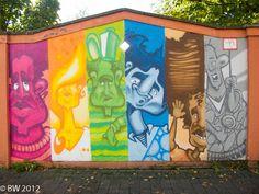 Graffiti am Bürgerzentrum Ehrenfeld (4 von 11) | von weber.bert
