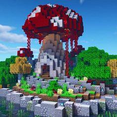 Minecraft Images, Minecraft Plans, Minecraft House Designs, Minecraft Blueprints, Minecraft Projects, Minecraft Architecture, Minecraft Buildings, Plantas Do Minecraft, Buildings Artwork