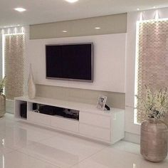 Trendy Modern Furniture Design Tv Walls Home Decor Ideas Tv Unit Decor, Tv Wall Decor, Tv Wall Design, House Design, Home Living Room, Living Room Decor, Tv Unit Furniture, Modern Furniture, Furniture Design