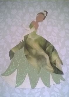 Tiana Princess and the Frog Paper by TheArtDressBoutique on Etsy, $9.00