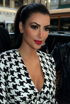 Pinterest: @ndeyepins | Très beau maquillage Kim