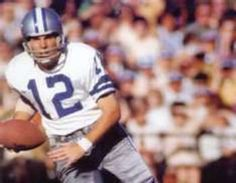 """Roger Stauback: Years: 1969-1979, Games: 131, Position: Quarterback. Stauback was so good he had three nicknames, """"Captain America"""", """"Captain Comeback"""" and """"Roger the Dodger"""".He completed 1,685 passes in 2,958 attempts for 22,700 yards and 153 touchdowns. His career pass rating was 9304 and he never suffered a losing season.He was named to the Pro Bowl 3 times, 1971, 1975-1979. He was also a first ballot Hall of Famer in 1985."""