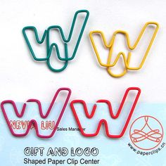 W shaped paper clip