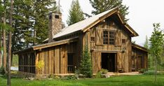 Rustic cabin in Swan Valley made mainly of wood and stone- looks like a barn on the outside but not on the inside whoa! Description from pinterest.com. I searched for this on bing.com/images