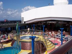 Pool on the Carnival Pride