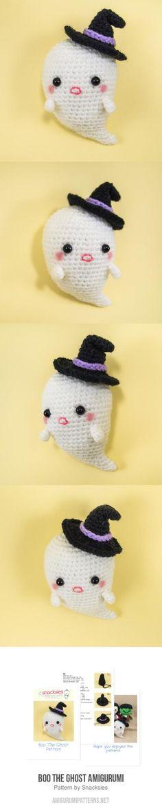 Boo the Ghost amigurumi pattern