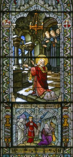 Blessed are the Meek - Meinrat Benedictine monestry - Southern Indiana | Flickr - Photo Sharing!