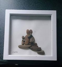 Beautiful Pebble Art - The perfect purchase for yourself or as a thoughtful personalised Gift for your loved ones or a special friend. The 3D shadow boxes are 7.5 x 7.5 inch This stunning Pebble Art can be made to order with a personilised inscription of your choice , The Pebble Art can be a idea of your choosing, for example; christening/ new arrival, wedding, anniversarys, ....simply any occassion or thoughts you desire! Or if you like the Pebble Art already displayed I can make it as…